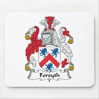 Escudo de la familia de Forsyth Alfombrilla De Raton