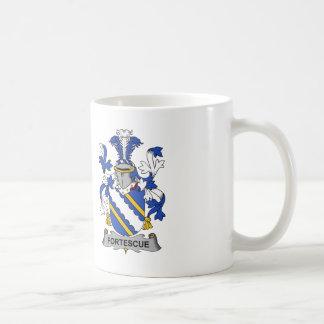 Escudo de la familia de Fortescue Taza De Café