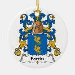 Escudo de la familia de Fortin Adornos