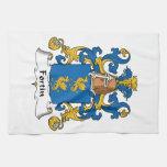 Escudo de la familia de Fortin Toalla De Mano