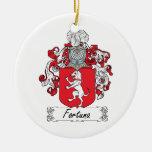 Escudo de la familia de Fortuna Ornato