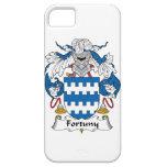 Escudo de la familia de Fortuny iPhone 5 Protectores