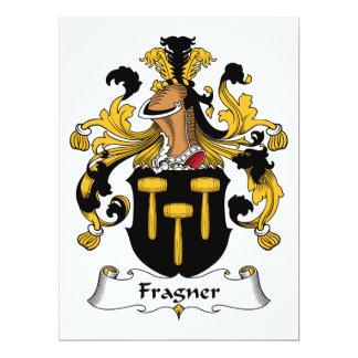 Escudo de la familia de Fragner Comunicado Personalizado