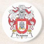 Escudo de la familia de Fraguas Posavasos Para Bebidas