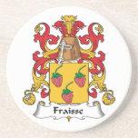 Escudo de la familia de Fraisse Posavasos Manualidades
