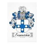 Escudo de la familia de Franceschini Comunicado