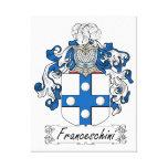 Escudo de la familia de Franceschini Impresiones De Lienzo