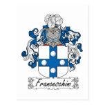Escudo de la familia de Franceschini Postal