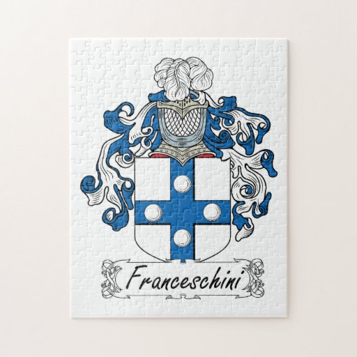 Escudo de la familia de Franceschini Rompecabezas