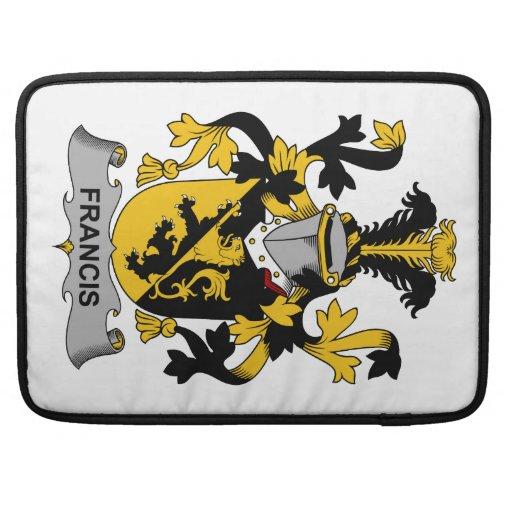 Escudo de la familia de Francisco Fundas Macbook Pro