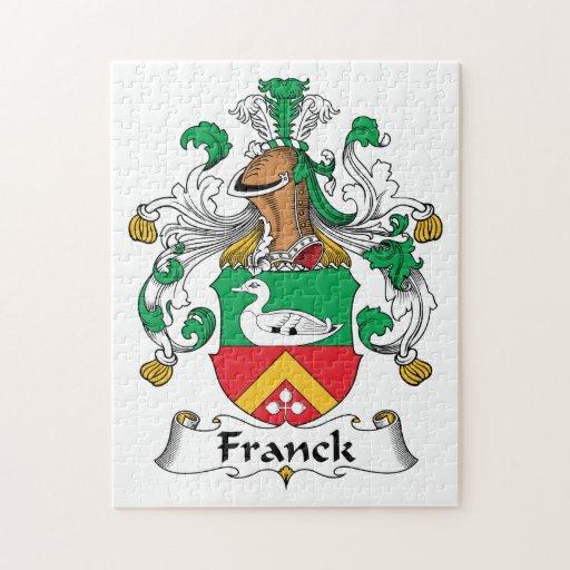 Escudo de la familia de Franck Puzzles Con Fotos