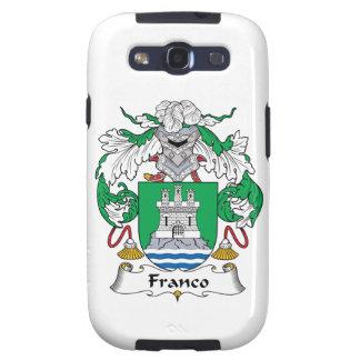 Escudo de la familia de Franco Samsung Galaxy S3 Carcasas