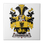 Escudo de la familia de Frankelin Azulejo