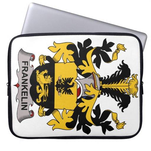 Escudo de la familia de Frankelin Fundas Portátiles