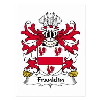 Escudo de la familia de Franklin Postal