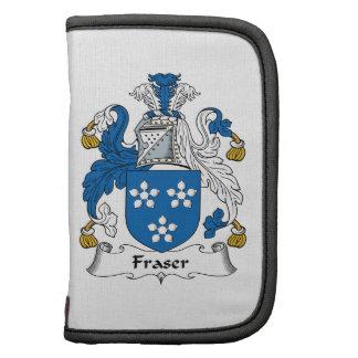 Escudo de la familia de Fraser Organizadores