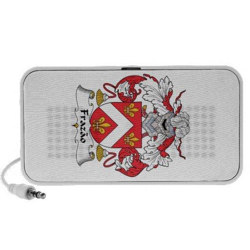 Escudo de la familia de Frazao iPod Altavoz
