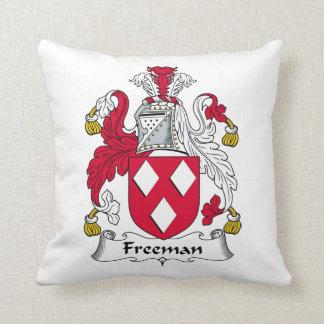 Escudo de la familia de Freeman Almohada