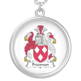 Escudo de la familia de Freeman Colgantes Personalizados