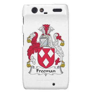 Escudo de la familia de Freeman Droid RAZR Fundas
