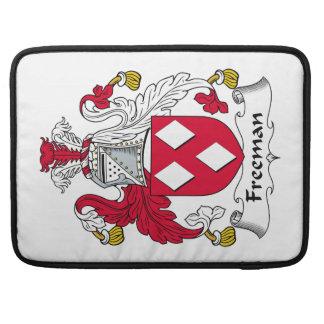 Escudo de la familia de Freeman Fundas Para Macbooks