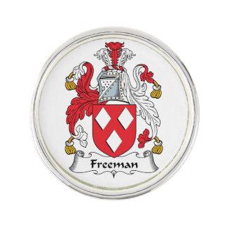 Escudo de la familia de Freeman Pin