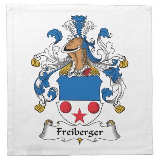 Escudo de la familia de Freiberger Servilletas