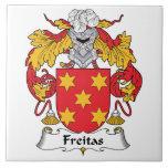 Escudo de la familia de Freitas Tejas Ceramicas