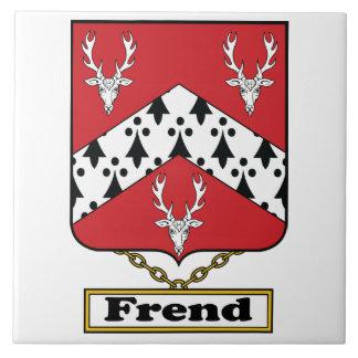 Escudo de la familia de Frend Teja