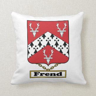 Escudo de la familia de Frend Cojines