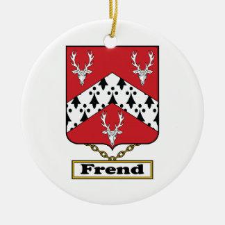 Escudo de la familia de Frend Adornos