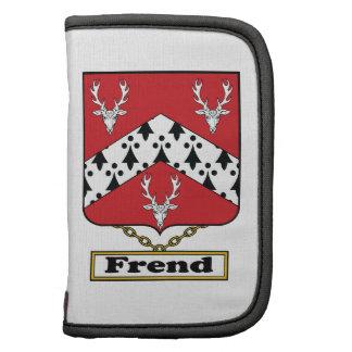 Escudo de la familia de Frend Planificador