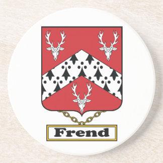 Escudo de la familia de Frend Posavasos Personalizados