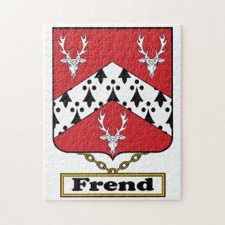 Escudo de la familia de Frend Puzzles
