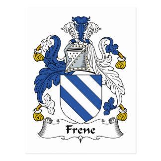Escudo de la familia de Frene Postales