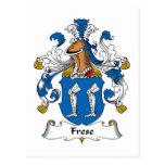 Escudo de la familia de Frese Postal