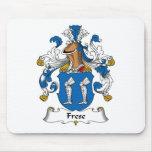 Escudo de la familia de Frese Tapetes De Ratones