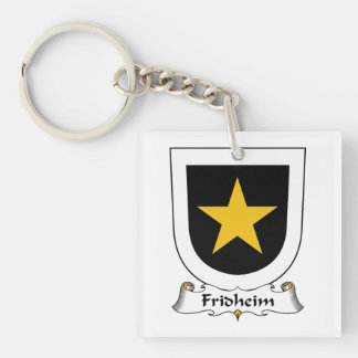 Escudo de la familia de Fridheim Llavero