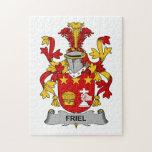 Escudo de la familia de Friel Rompecabezas Con Fotos