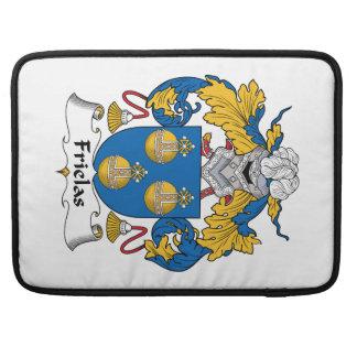 Escudo de la familia de Frielas Fundas Para Macbooks