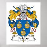 Escudo de la familia de Frielas Impresiones
