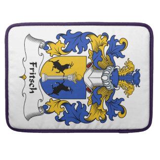 Escudo de la familia de Fritsch Funda Para Macbook Pro
