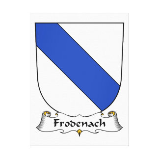 Escudo de la familia de Frodenach Lona Estirada Galerías