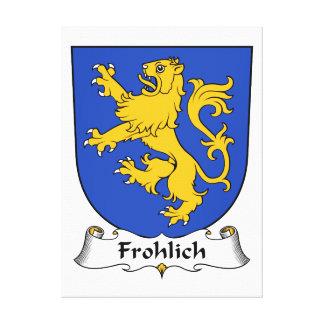 Escudo de la familia de Frohlich Lona Estirada Galerias
