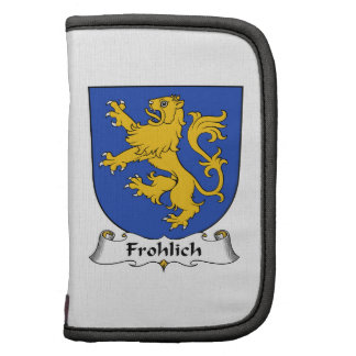 Escudo de la familia de Frohlich Planificador