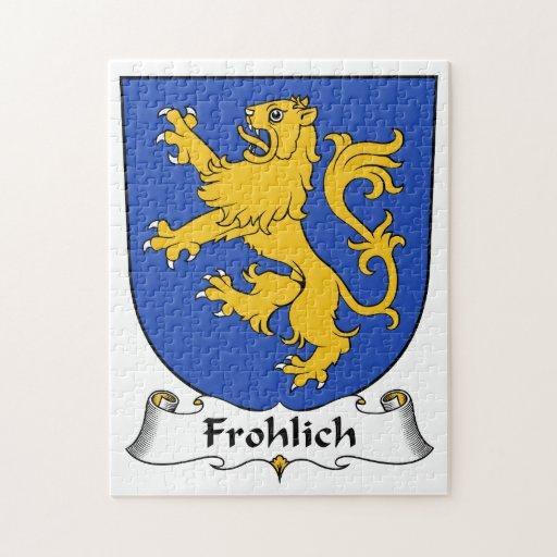Escudo de la familia de Frohlich Puzzle