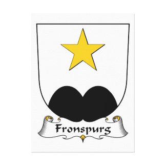Escudo de la familia de Fronspurg Impresión En Lona Estirada