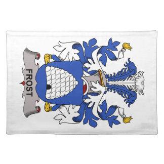 Escudo de la familia de Frost Manteles Individuales