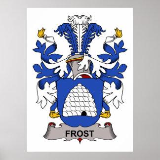 Escudo de la familia de Frost Póster