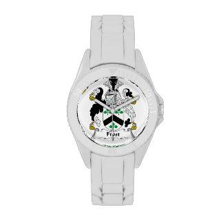 Escudo de la familia de Frost Reloj